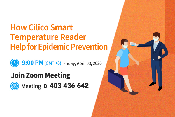 How CILICO Smart Handheld Temperature Reader help epidemic prevention