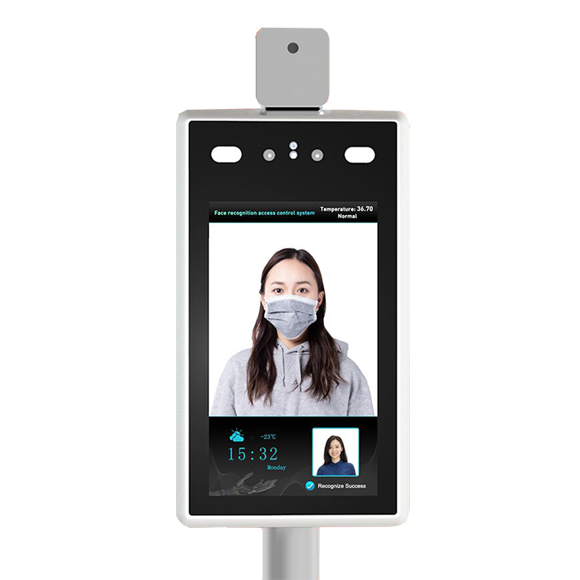 Face Recognition Temperature Reader